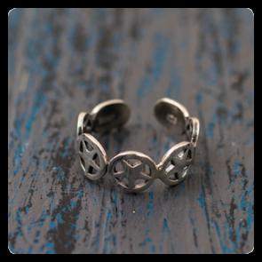 Мини сребърен пръстен