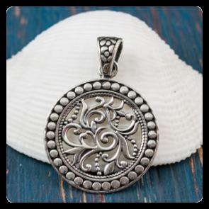 Сребърен медальон